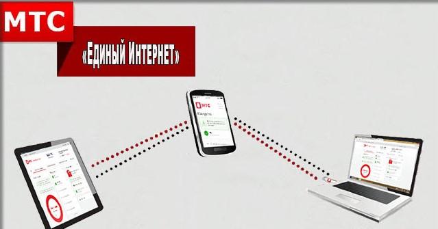 Подключайте до 5 устройств - Единый интернет от МТС